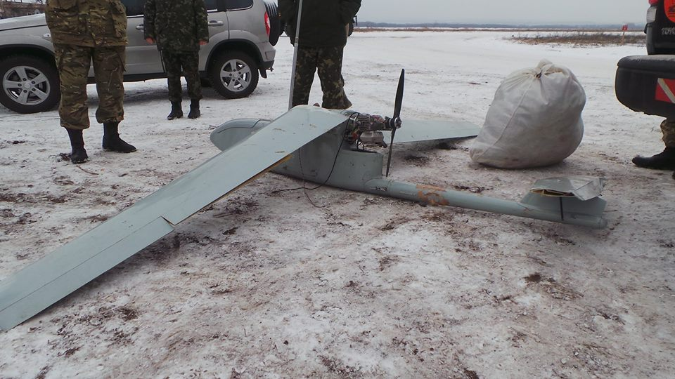"Russian UAV ""ORLAN"" shot down near Lugansk"