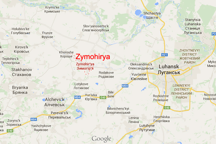Zymohirya on the map