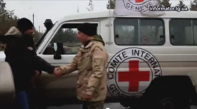 International Committee of the Red Cross delivers humanitarian aid to Lugansk