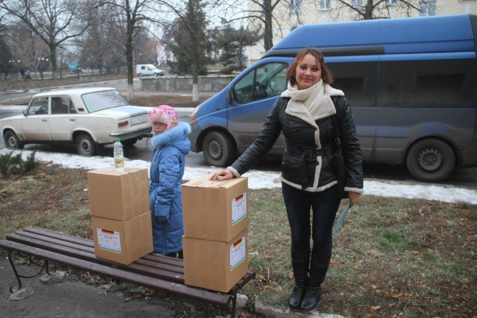 Vostok-SOS delivered humanitarian aid to refugees in Lysychansk