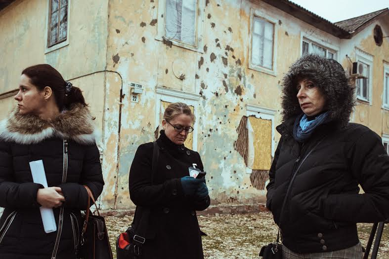 Red Cross delivers humanitarian aid to Lugansk Region