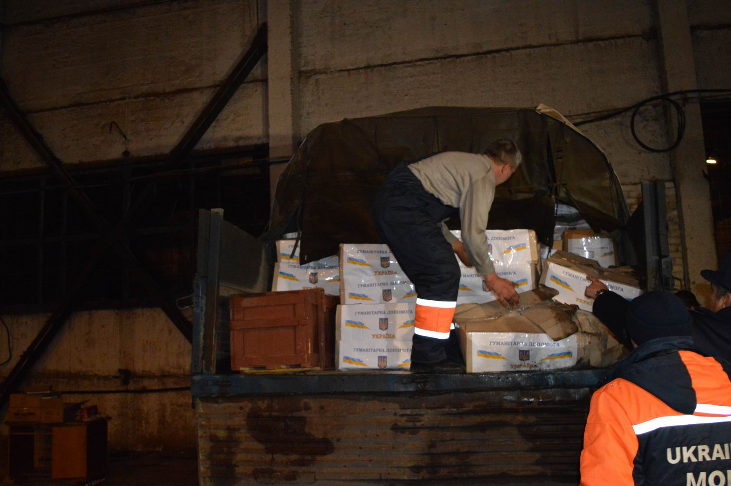 Humanitarian aid in Severodonetsk