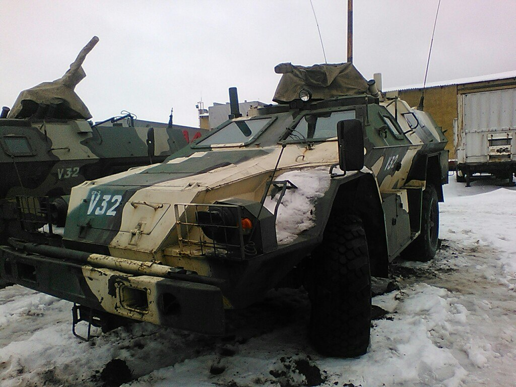 Russian BPM-97 Vystrel in Lugansk