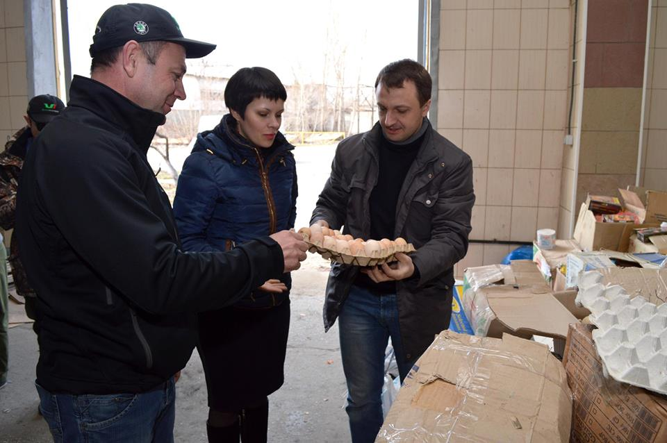 Humanitarian aid from Mykolaiv arrived to Severodonetsk