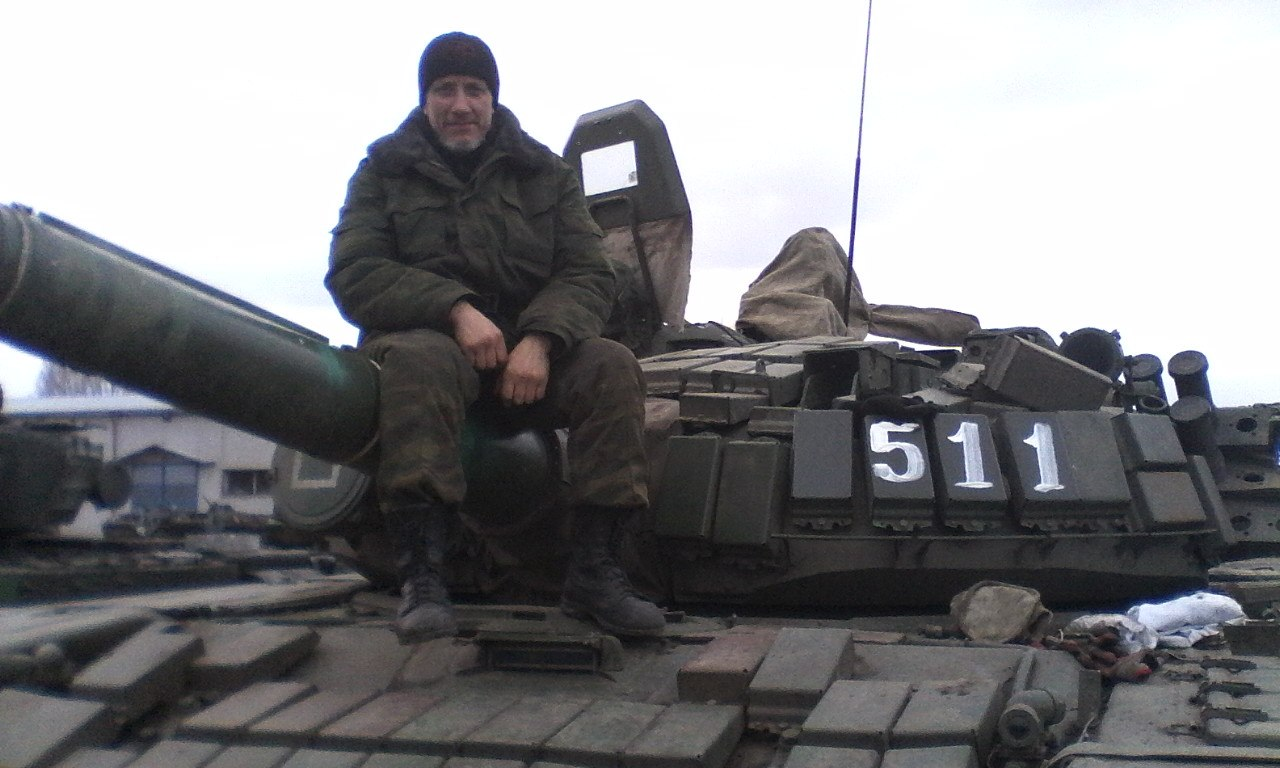 Photos from Russian base in Lugansk
