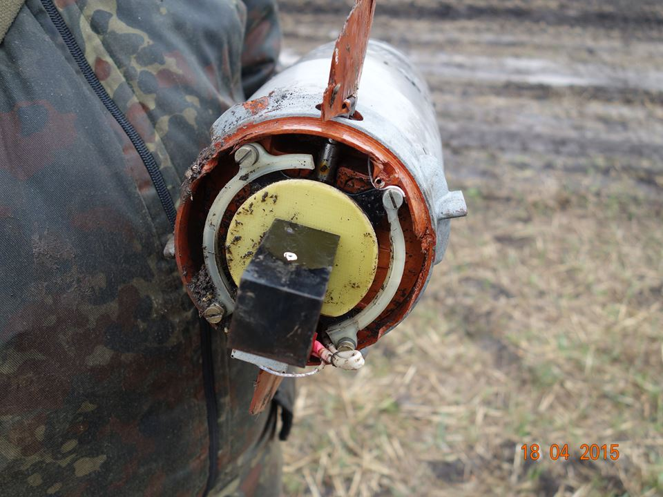Components of Russian ATGM 9M133f-1 Kornet found near Ukrainian checkpoint #29