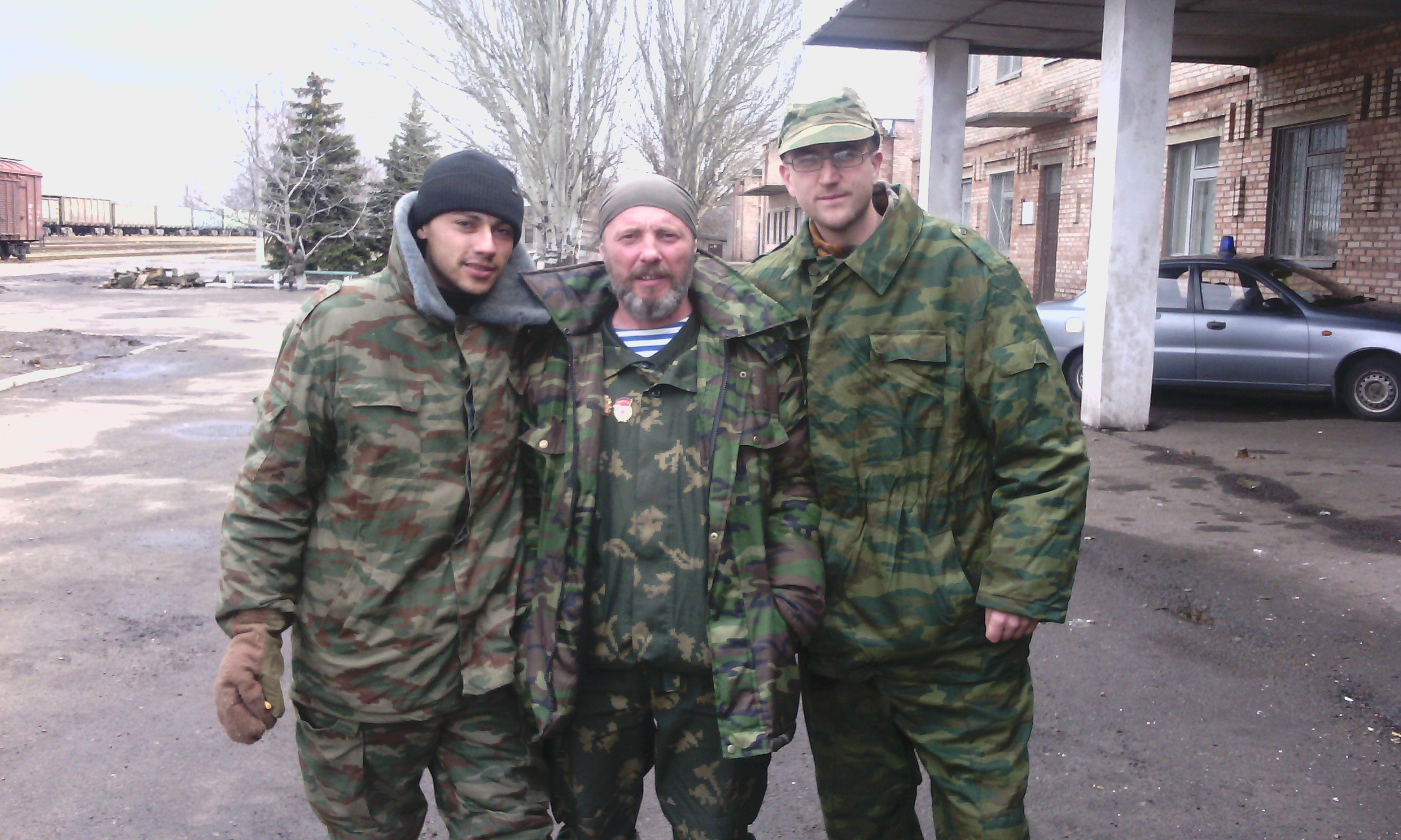Photo taken by pro-Russian terrorists in Sukhodilsk
