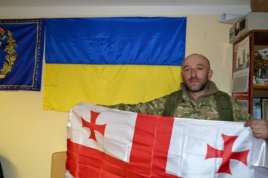 Georgiy Dzhanilidze, Azov instructor from Georgia