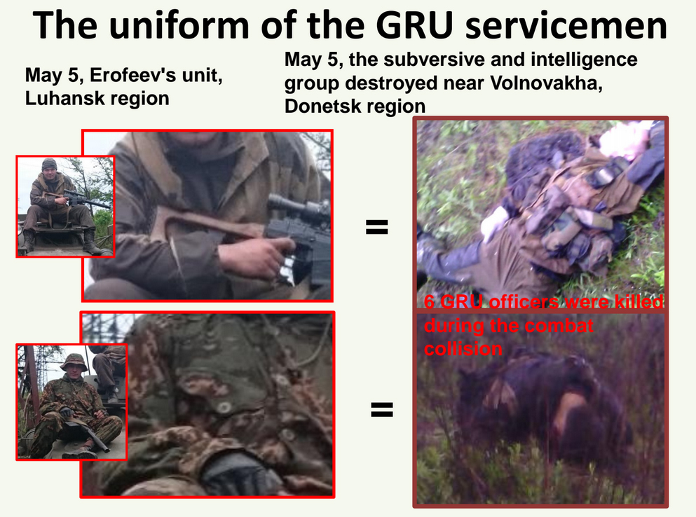 6 Russian Special Forces soldiers killed near Volnovakha in Donetsk Region of Ukraine