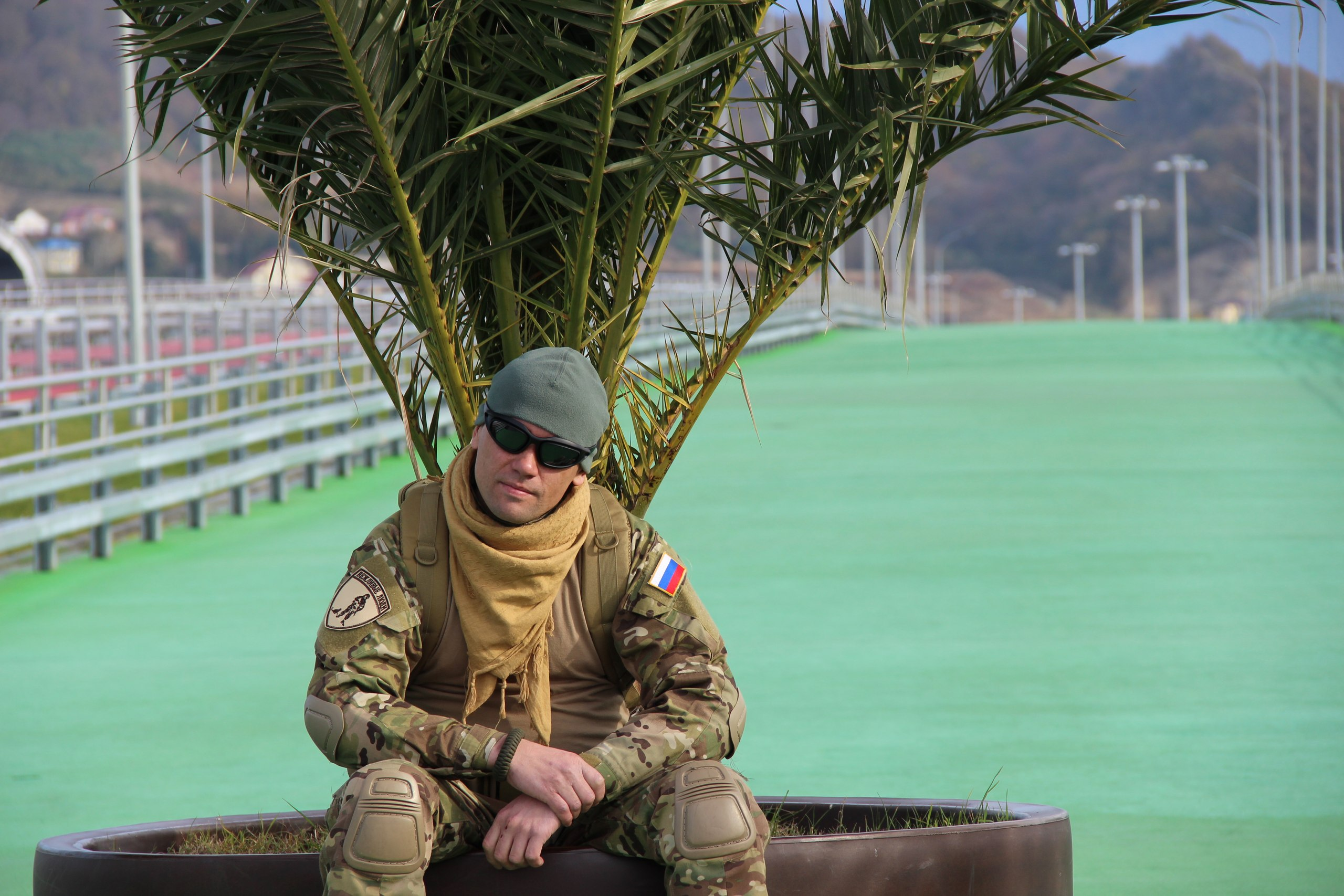 Russian Special Forces soldier Krivko in Sochi, photo added on Dec 4 2014