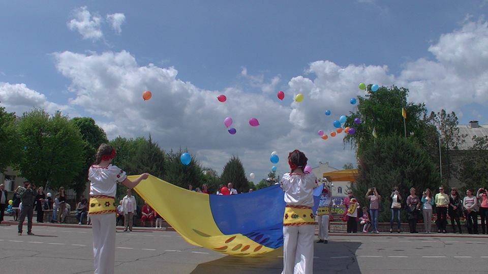 Patriotic event in Starobilsk
