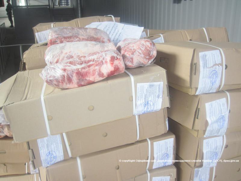 Meat from Brazil was going to occupied Lugansk via Russia