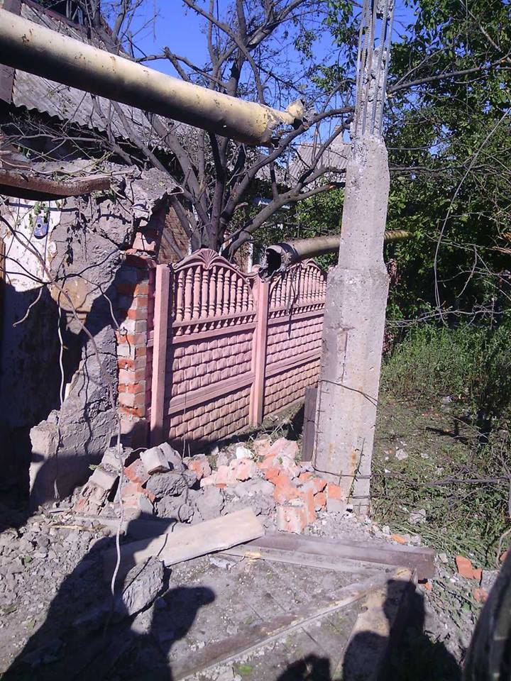 Destruction in Dzerzhynsk