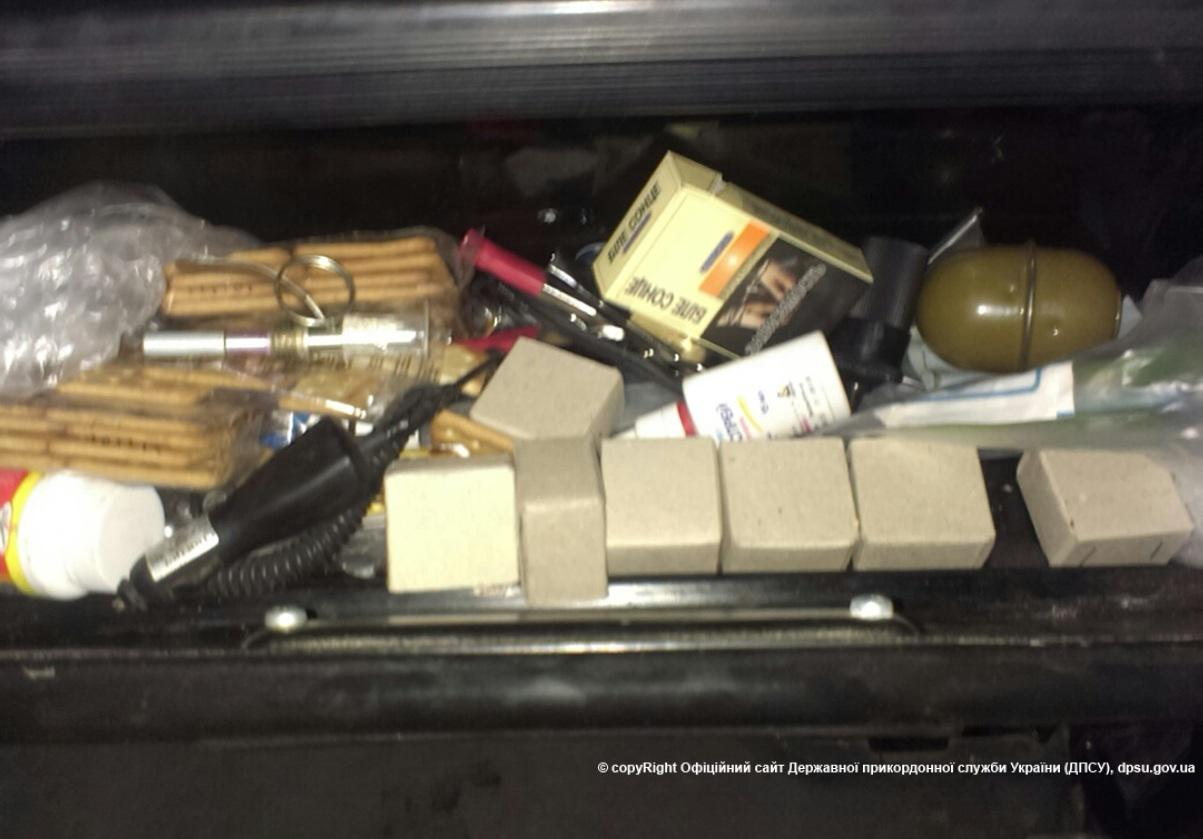 Ammunition found in a truck