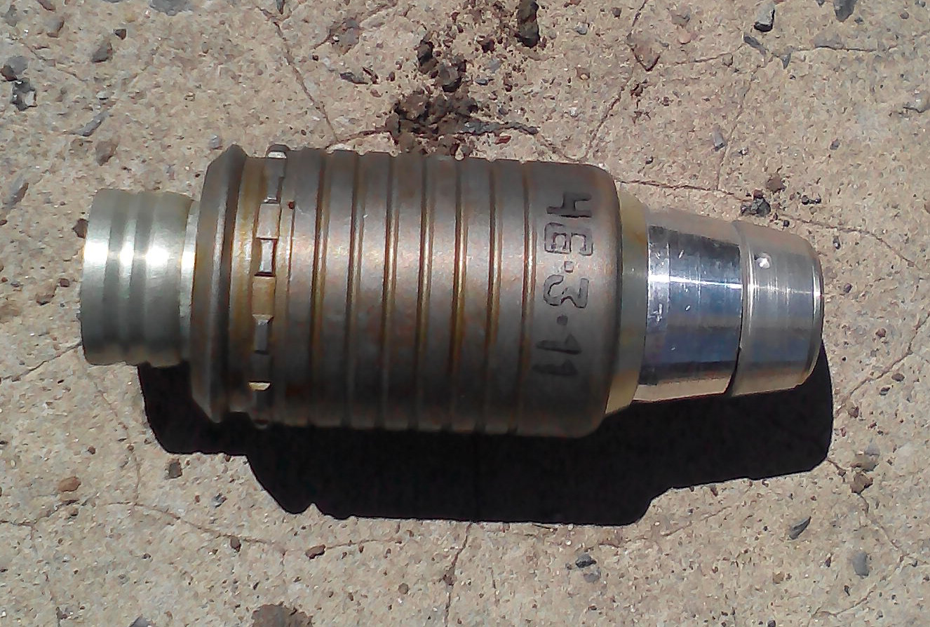 Grenade used by Russian Army
