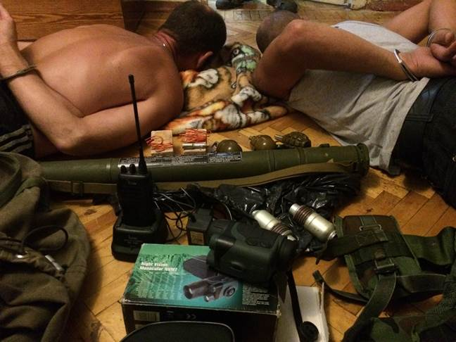 Terrorists detained by Security Service of Ukraine in Kharkov Region