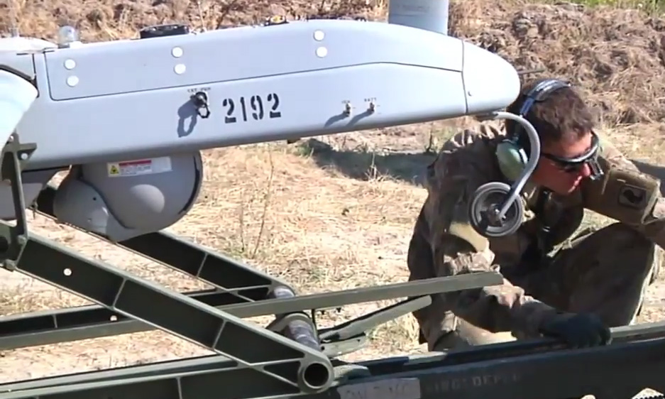 Shadow RQ-7B UAV with serial number 2192