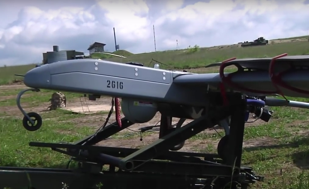 Shadow RQ-7B UAV with serial number 2616