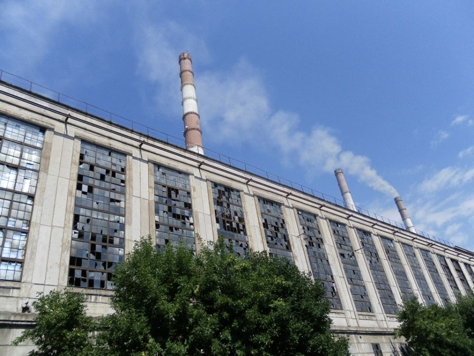 Damaged Power Plant in Shchastya