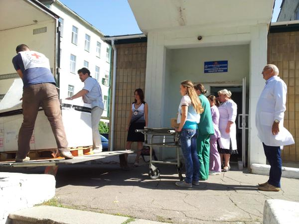 ICRC delivered insulin to the territory controlled by so-called Donetsk People's Republic
