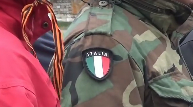 "Italians arrived to join Aleksey Moszgovoy ""Prizrak"" brigade"