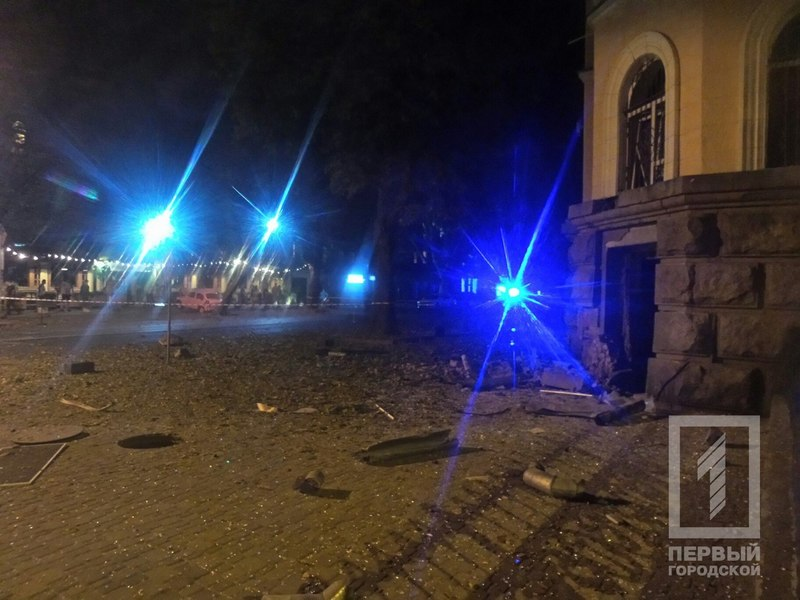 Explosion in Odessa at the building of Security Service of Ukraine