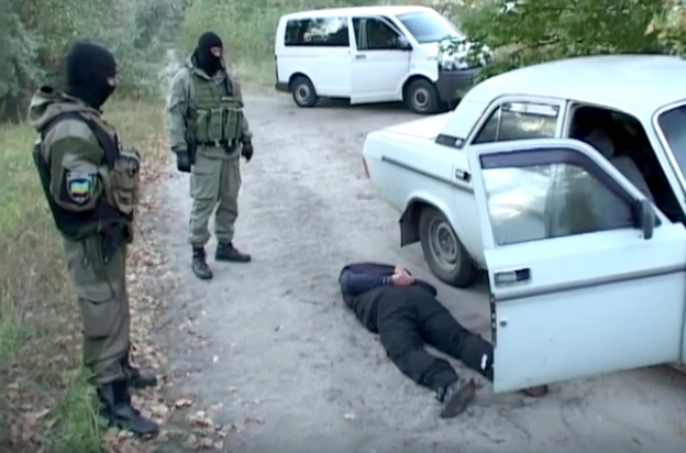 Security Service of Ukraine detained LPR terrorists in Dnipropetrovsk