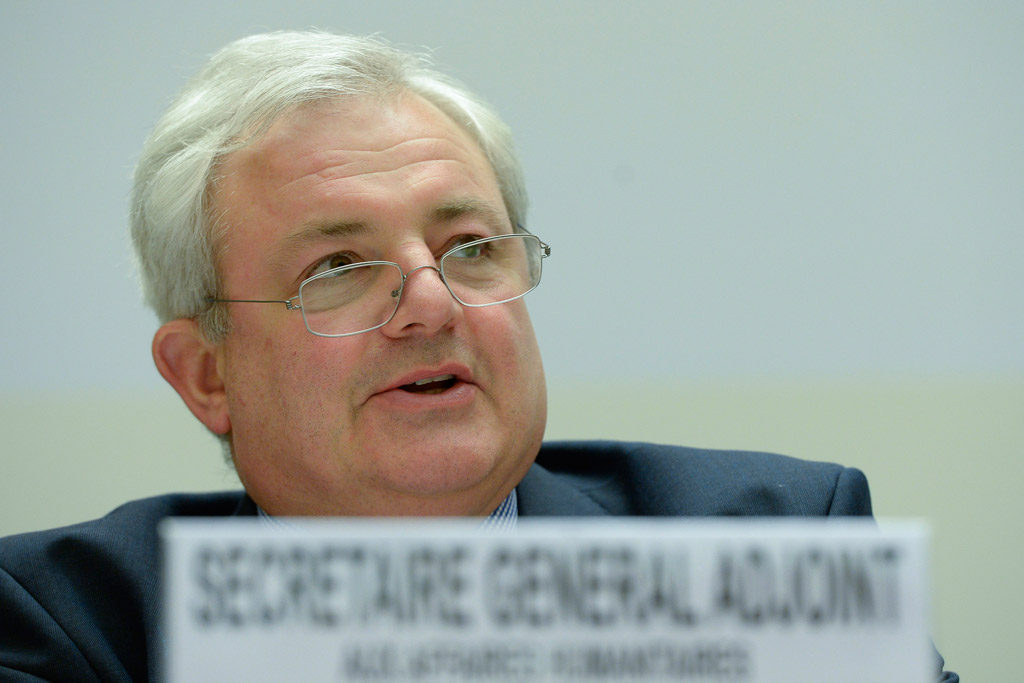 Stephen O'Brien, Under-Secretary-General for Humanitarian Affairs and Emergency Relief Coordinator of United Nations