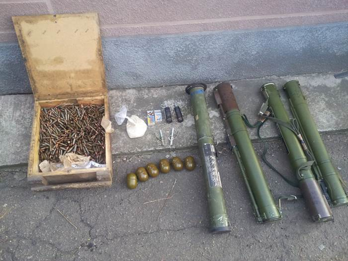 Weapon found in Krasnohorivka of Donetsk Region