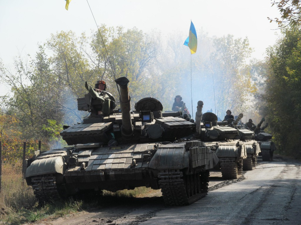 Ukrainian Army withdrew tanks from the contact line