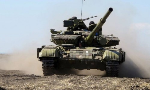 Ukrainian Army started to withdraw weapon from the contact line in Lugansk Region