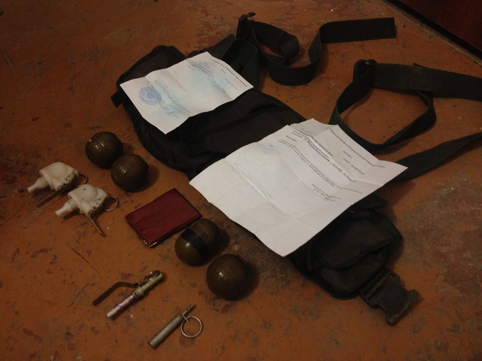 Docs and ammunition of Russian veteran killed in Ukraine