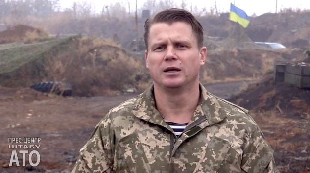 Leonid Matyukhin, spokesman of Anti-Terrorist Operation