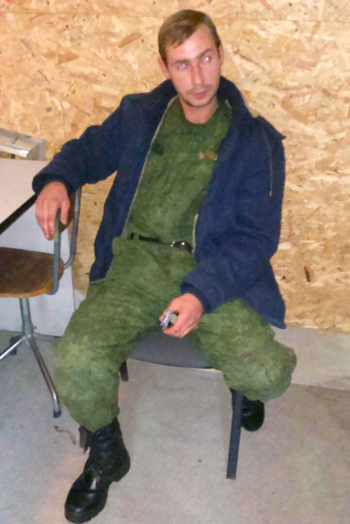 Dmitriy Obolontsev, pro-Russian militant detained in Chisinau airport