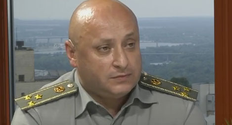 Vladyslav Voloshyn, the speaker of General Staff of the Armed Forces of Ukraine