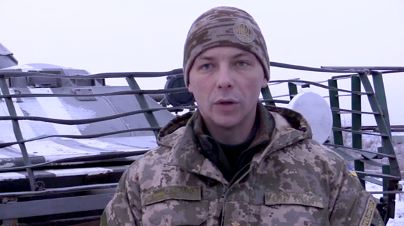 Andriy Zadubinny, spokesman of Anti-Terrorist Operation