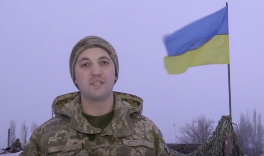 Anton Myronovych, spokesman of Anti-Terrorist Operation