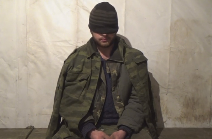 DPR militant surrendered to Ukrainian soldiers