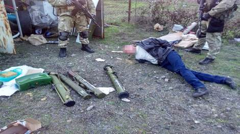 Terrorists of LPR detained in Odessa