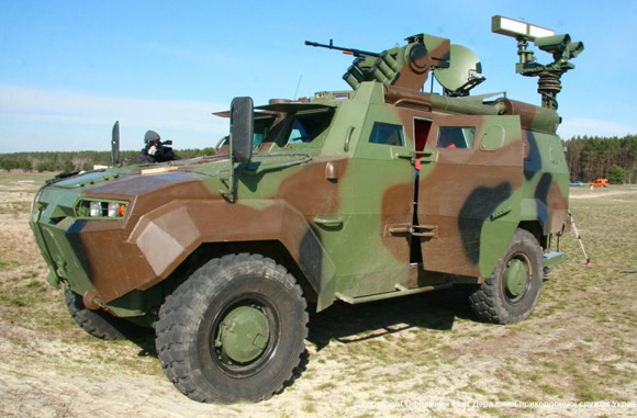 """Triton"" armored personnel carrier for Border Guard Service of Ukraine"